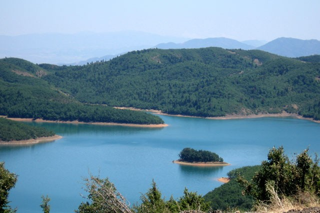N. Plastira Reservoir, Credit: Elias Dimitriou