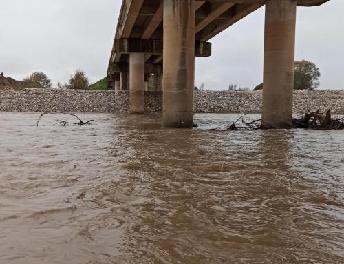 Οι επιπτώσεις από την καταιγίδα Ιανός στην στάθμη των ποταμών