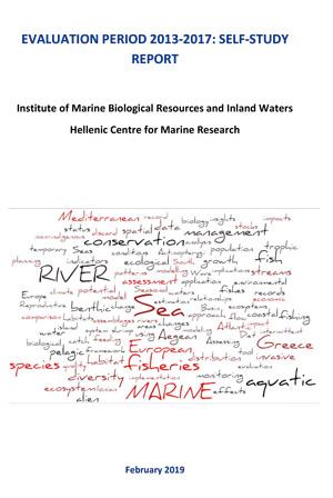 imbriw scientific and managment plan